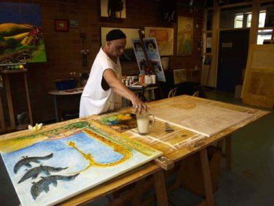 Atelierruimte voor kunstenaars