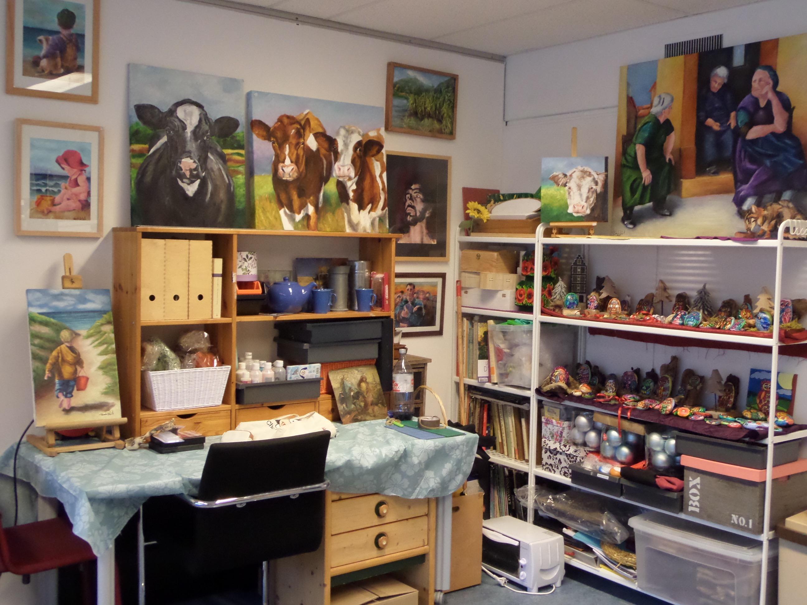 atelier Barbara Gelcich lookatie364 kunstpost